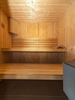 All 7 villas have private sauna.
