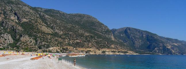 Oludeniz beach looking the other way
