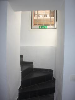 Enter of the appartement
