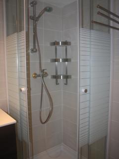 Completely new shower