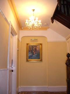 Entrance hallway at The Cleeve.