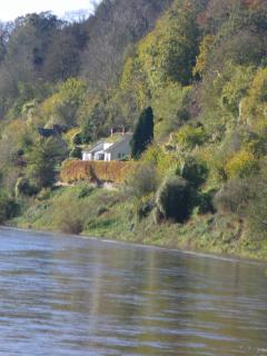 Cottage from upstream