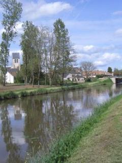 Donnery -le canal d'Orléans