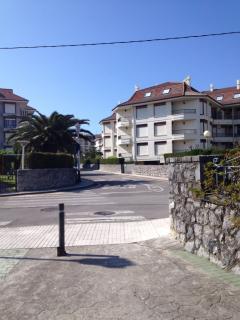 Urbanización desde la playa