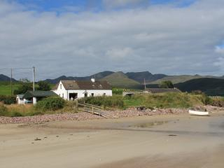 Sheehys Farmhouse with Boat on the shoreline.............but where is the tide when you need it!!