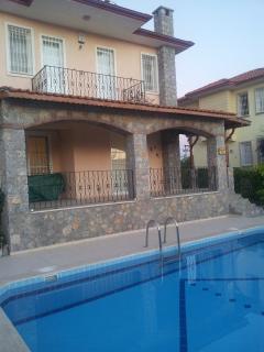 Peach Villa with private pool