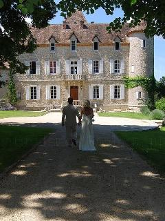 A Wedding at Château de Lamostonie