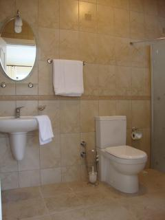 One of two double bedroom ensuite wetrooms