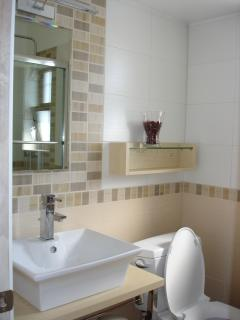 Spa hydromassage and jacuzzi style tub