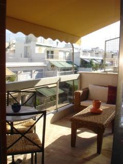 Private veranda
