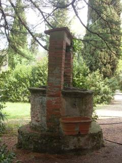 Old well in the garden