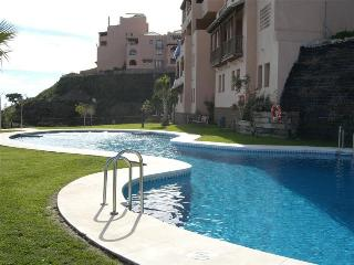 main pool- with sun loungers and shade if needed.
