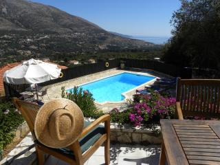 Villa Kyparissi Holiday Rental with private pool and fantastic panoramic views, Agia Efimia