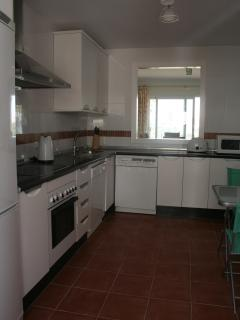 Large well equipped Kitchen with breakfast seating