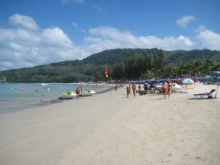 Kamala beach - 2 minutes walk