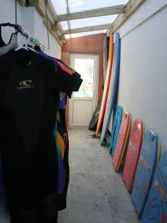 Surf  Board/Wetsuit  Storage