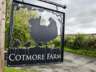 Cotmore Farm, where a warm welcome awaits, whatever the weather!