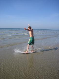Skim Boarding