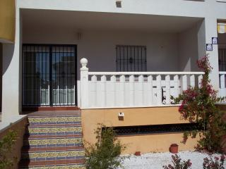 "Playa Golf II, Ground floor apartment overlooking children""s play area"