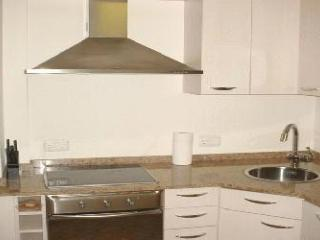 Kitchen, marble counter top, dishwasher, washer-dryer, microwave