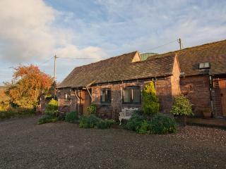 Farmyard cottage nr Ironbridge (Rickyard)