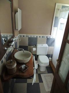 Enrramada baño piso superior