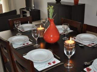 Dining area  - Furnished with everything you need to make your self catering holiday stress free.