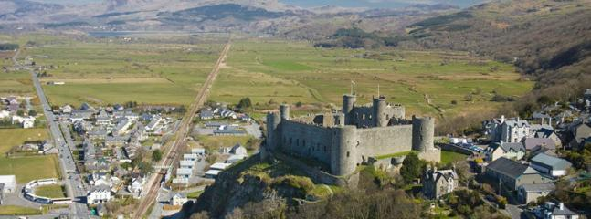 Wonderful Harlech Castle
