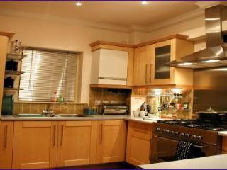 Beautiful stylish modern kitchen