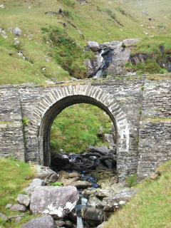 Coom Bridge on Healy Pass Road 4klm from cottage