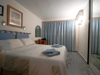 Comfortable bedrooms with ample built in storage for clothes etc. Towels provided.
