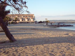 beach - five mins walk