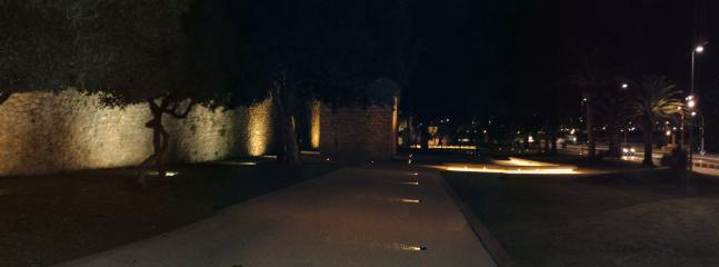 City Walls at night