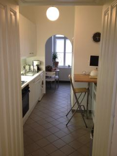 Kitchen (fully equipped, incl dishwasher, washing machine, stove, espresso machine, etc)