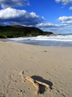 unspoiled quiet beaches with good surfing