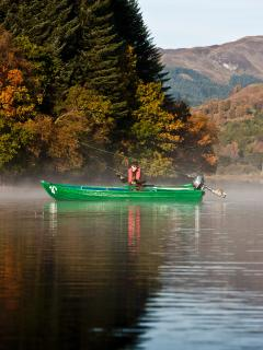 Enjoy a days fishing on the estate lochs with free use of the fishing boats.