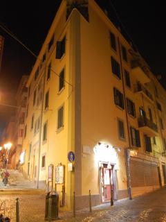 Esterno del palazzo/The building
