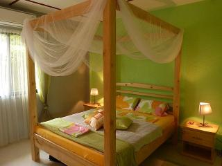 Sleeping Room , Air Con, Romantic Bed with oll over mosquito fly net