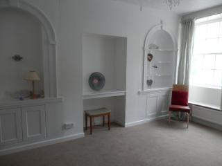 Newly refurbished Lounge seats up to 24+. There is wifi, B.T. tv and a dvd player.
