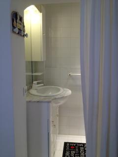 bathroom in the 2nd bedroom
