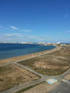 playa , vistas desde la azotea del edificio