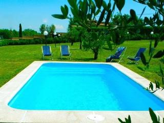 Charming villa near Rome, lake district, private pool (salt, no chlorine)
