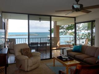 Direct Ocean Front - Spacious corner lanai, Maalaea