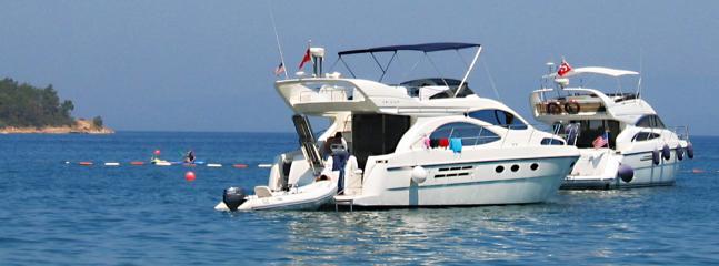 Boats off Torba Beach