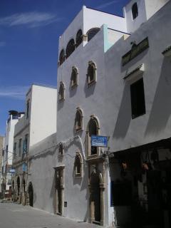 façade vue de la rue