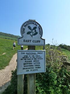 National Trust Cliff Top Walk from Branscombe to Beer, Devon