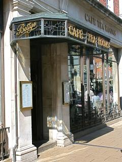 Betty's Café - 50 yards from our door!