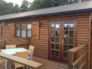 Lake cabins, Tewkesbury