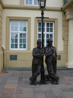 Ulverston - the birthplace of Stan Laurel