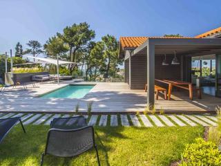 Design moderne Villa w / piscine chauffée et l'océan vues, Biarritz
